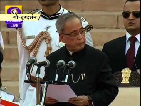 Narendra Modi sworn in as India's 15th PM