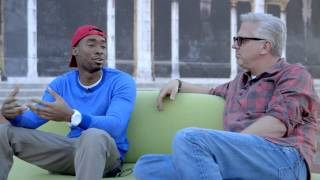 Prince Ea and Glenn Beck Talk Buddhism and Hip-Hop | Green Couch Interview