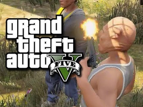 GTA 5 Online Multiplayer Funny Gameplay Moments! #7 (GTA V Jets, Suicides, And House Party!)
