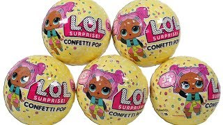 LOL Surprise Dolls Series 3 Confetti Pop Blind Box