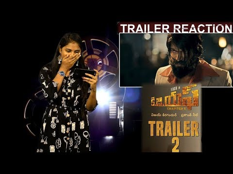 #KGF Official Telugu Trailer 2 | Yash | Srinidhi | Prashanth Neel | Vijay Kiragandur | Reaction