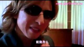 【中文字幕】2011.09.06 X JAPAN YOSHIKI interview
