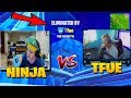 NINJA GETS DESTROYED BY ANOTHER STREAMER 1V1 IN FORTNITE | NINJA VS TFUE 1V1| FORTNITE FUNNY MOMENTS thumbnail