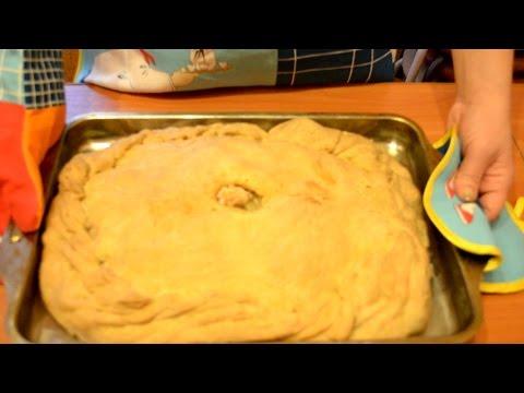 Пирог курник с курицей и рецепт