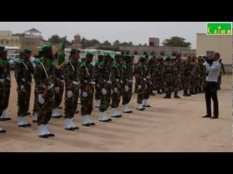 Cérémonie de fin d'année 2011-2012 au lycée militaire de Nouakchott