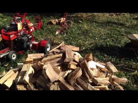 FUN WITH LOG SPLITTERS