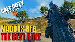 MADDOX RFB - The Best Rifle!  | 2080 Ti CoD: Blackout Gameplay