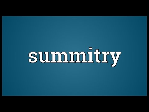 Header of summitry