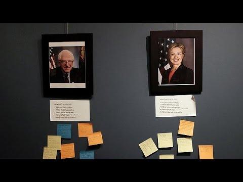 ABD'de gözler Clinton ve Sanders'in New York programına çevrildi