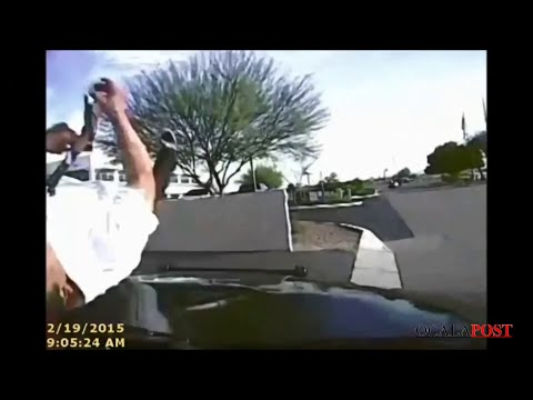 Dash Cam Arizona Cop Rams Armed Suspect With Police Car [FULL VIDEO]