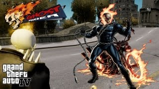 GTA IV LCPDFR Ghost Rider Police Patrol - Episode 3 - Ghost Rider Gets New Pet Dog!!!