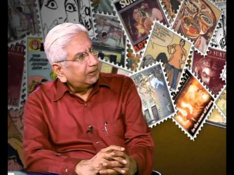 Aabid Surti P7 News Channel Delhi - Interviewed by Sharad Dutt - 2