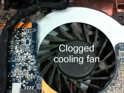 Compaq Presario CQ56 overheating repair - by Laptop Specialist