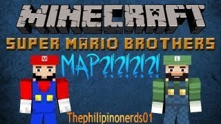 Super Mario Minecraft Map(Download Link in Desc.)