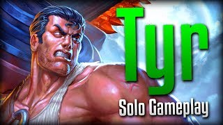 Smite: Feels Good!- Tyr Solo Gameplay