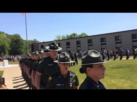 West Virginia State Police 65th Cadet Class March
