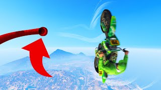 World Record GLIDING CHALLENGE In GTA 5!