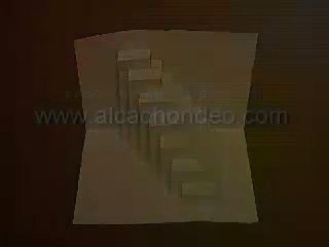 Como hacer edificios de papel