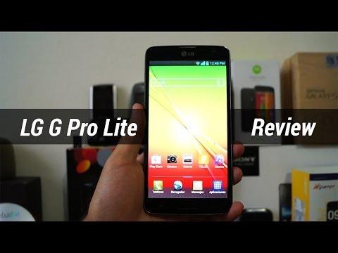 LG G Pro Lite - Review en español