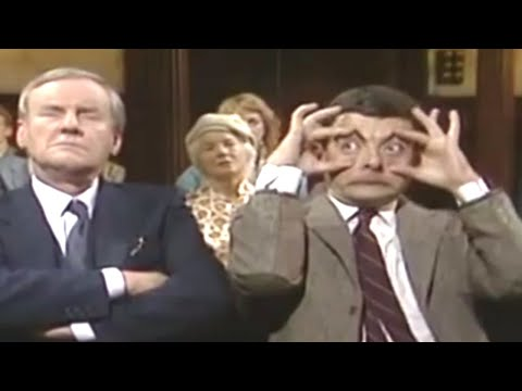 Mr Bean - Falling Asleep in Church