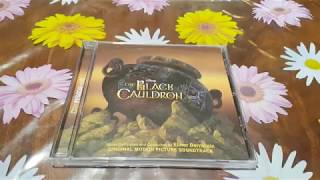 The Black Cauldron SoundTrack CD From The Year 2012 Unboxing (American Edition)