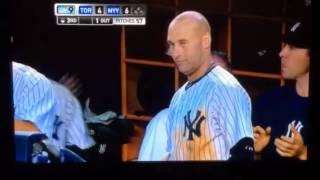 Derek Jeter's funny reaction to Ichiro Home Run