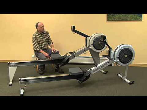 concept 2 ergo rowing machine