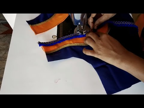 Easy and Style Blouse Designs Cutting and Stitching ll Style Blouse Back Neck Designs