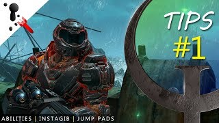 Quake Champions Random Tips #1 (Using Ability, Instagib, Jump Pads and More)