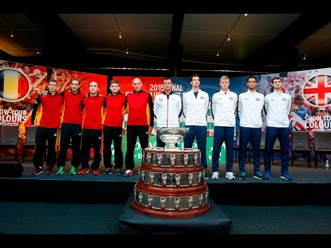 Draw day at the 2015 Davis Cup by BNP Paribas Final