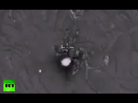 Combat Cam: Russian Air Force targets militants' command center, oil depots