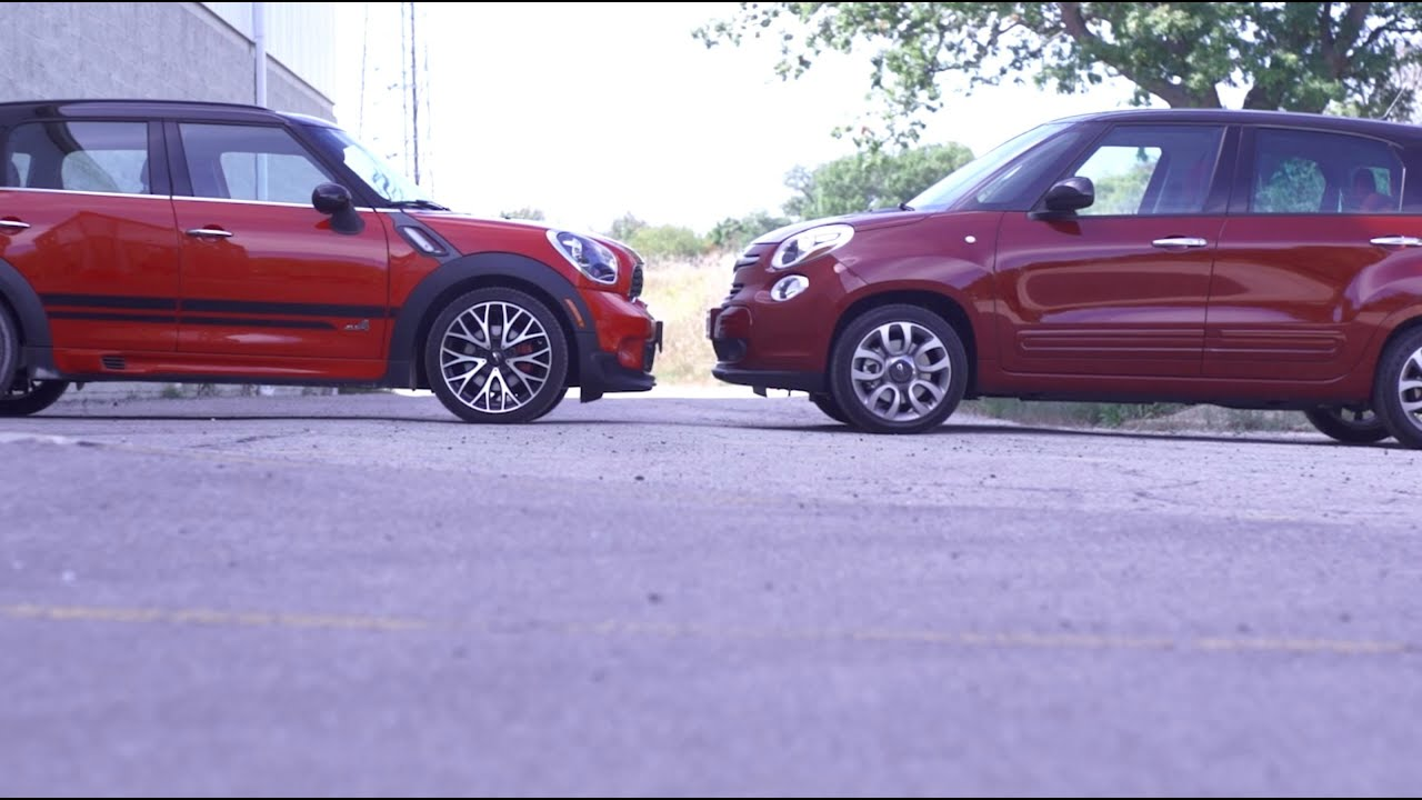 Compared: Fiat 500L vs Countryman JCW - YouTube