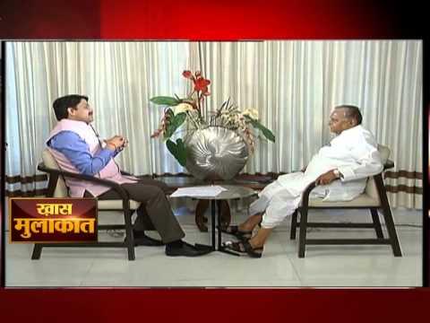 Mulayam Singh Yadav in conversation with ETV