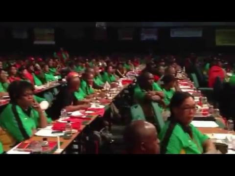 COSATU 11th National Congress (1) South African Communist Party  addressing COSATU Unions