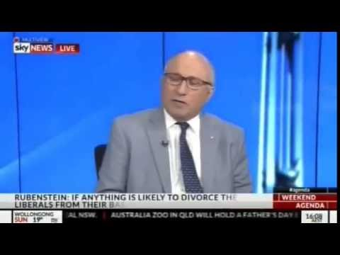 Colin Rubenstein on 18c - Sky News Agenda
