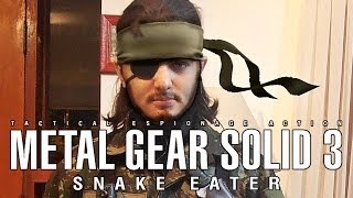 Naked Snake cosplay: Metal Gear Solid 3