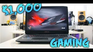 Top Gaming Laptops Under $1000 May 2019