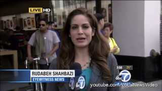 Apple iPhone launch lines (fights, homeless, arrests)