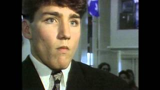 An 18 Year-Old Justin Trudeau on Quebec Sovereignty