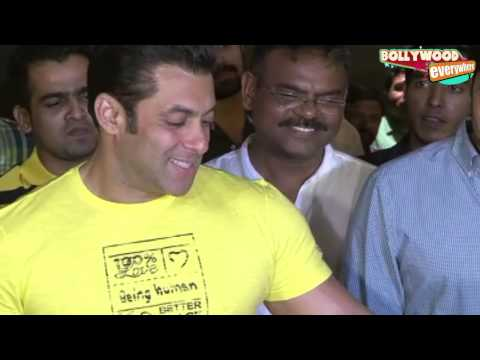 Salman Khan At Screening Of Marathi Movie 'yellow' video
