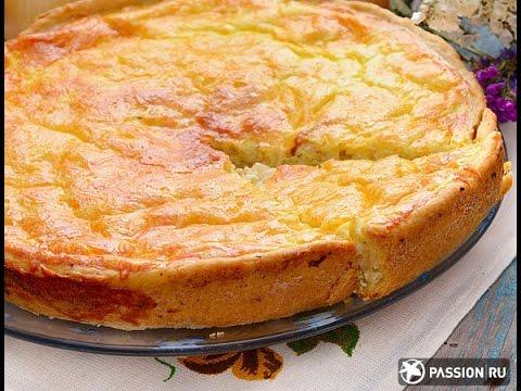 Заливной пирог с капустой и картофелем