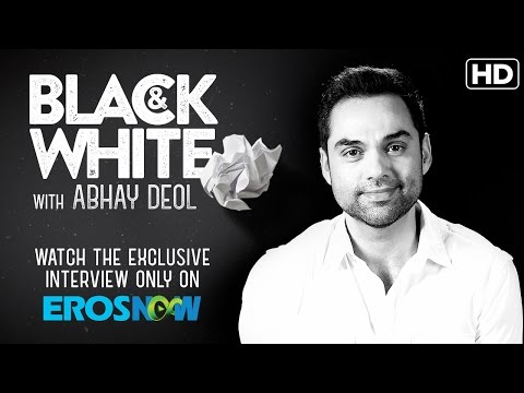 Catch Abhay Deol On Eros Now Black & White | The Interview