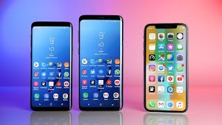 Samsung Galaxy S9 & S9+ vs. Apple iPhone X (Deutsch) | SwagTab