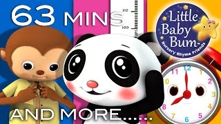 Growing Up Songs | Plus Lots More Nursery Rhymes | 63 Minutes Compilation from LieBaby!
