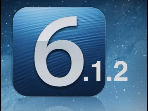 iOS 6.1.2 Jailbreak and Warning!