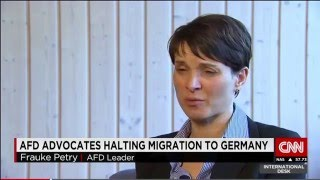 CNN's Atika Shubert Interviews AfD's Frauke Petry (And Fails To Learn About AfD's Actual Program)