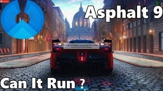 Phoenix OS 3.0.3 Can It Run Asphalt 9 ? Non-play store version