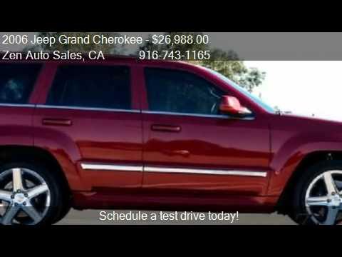 2006 Jeep Grand Cherokee SRT-8 SRT8 CUSTOM AWD - for sale ...