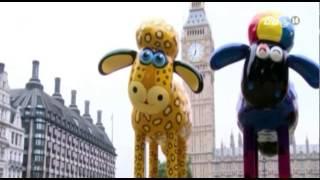 VTC14_Đấu giá tượng nhân vật phim hoạt hình Shaun the Sheep để gây quỹ từ thiện