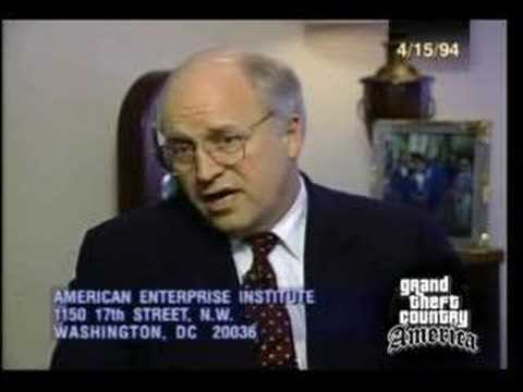 Cheney '94: Invading Baghdad Would Create Quagmire